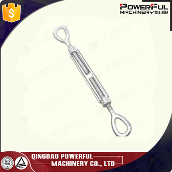 US Type Drop Forged Turnbuckle Hook and Eye Type Size 1/2X9