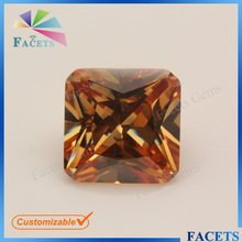 Facets Gems Square Cut 2mm CZ Loose Stone Synthetic Names of Semi Precious Stones