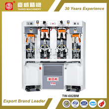Hot Sale Italian Technology Two Cold & Two Hot Shoes Backpart Moulding Machine With Airbag