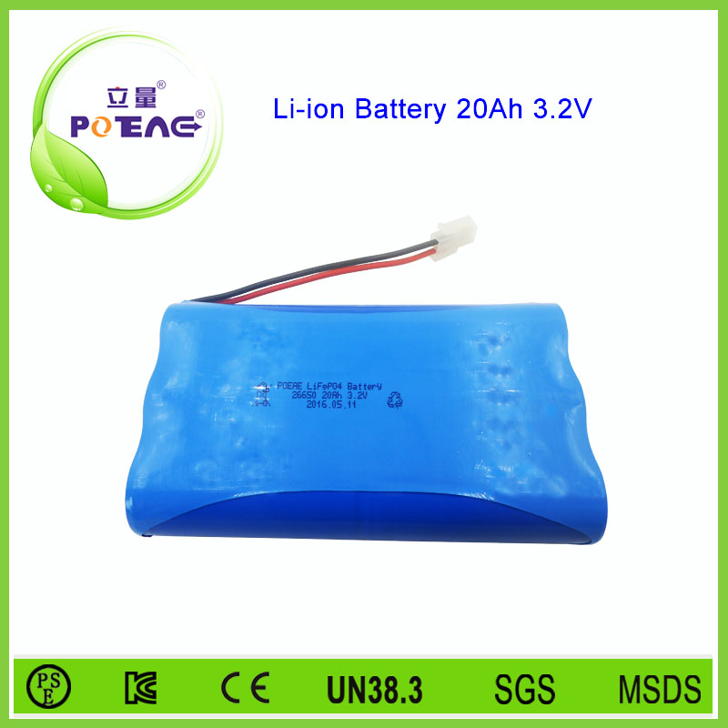 High capacity 3.2v 20Ah replacement lifepo4 battery