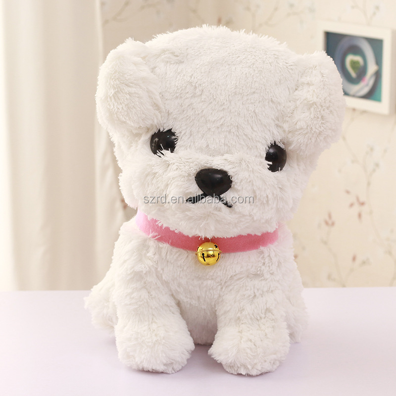 cute best quality stuffed dog toy/ lovely plush puppy with favorable price/english puppies for sale