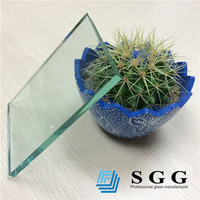 Auto Grade quality China 6mm colorless float glass factory