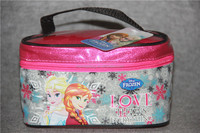 Disny Frozen Anna Elsa Kids girl Beauty Case Box Cosmetic Bag Makeup Case Pouch Ice Queen