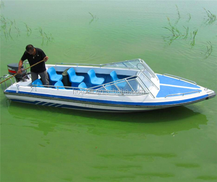 2017 high quality rigid speed passenger boat with engine