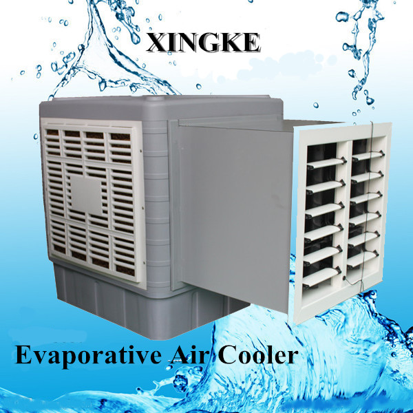 Low power consumption air conditioner 100% new PP material evaporative window air conditioner/water air cooler