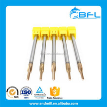 BFL Tungsten Carbide Reamers Metal Cutting Tools For Milling Machine