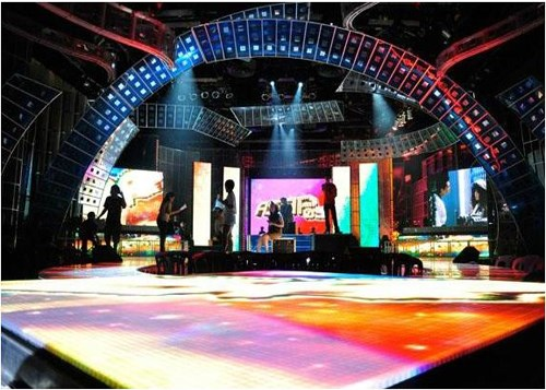 Rental Video Led Interactive Dance Floor Led Starlit Dance Floor