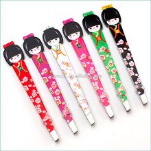 Cartoon Cute Cosmetic Tweezers Cute Doll Eyebrow Tweezers