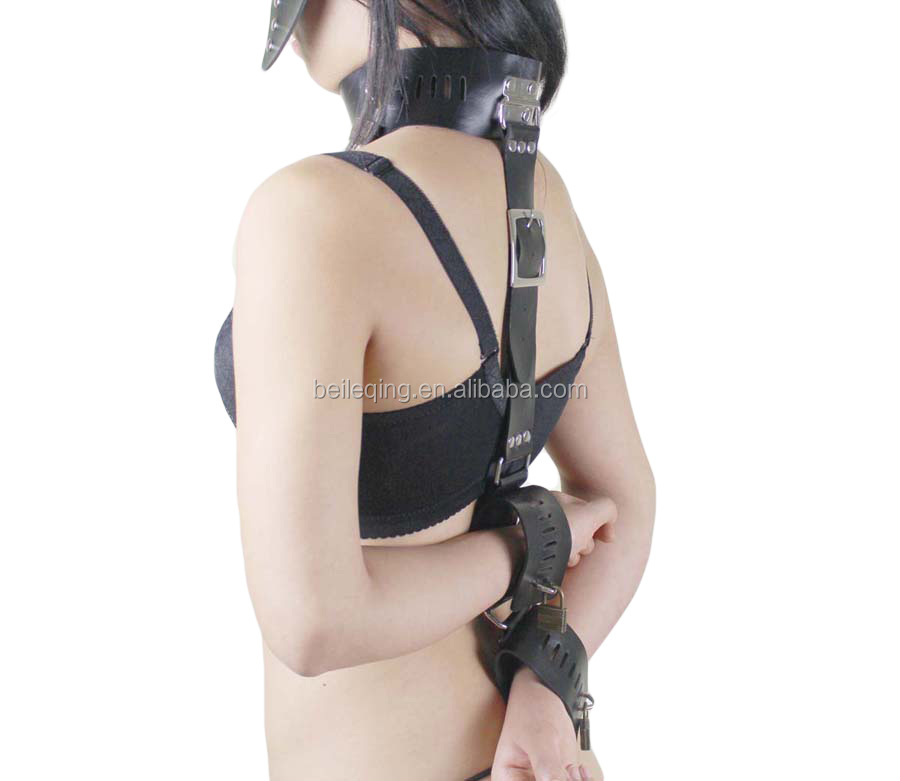 Leather Handcuffs Adult Sex Toys for Couples BDSM Bondage Restraint Set SM Sex Products Slave Games