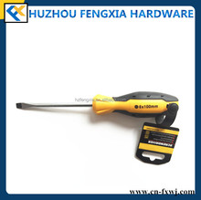 Flat Head Screwdriver Slotted Head Screwdriver Philips Slotted Screwdriver