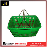 32L China wholesale the latest shopping supermarket trolley baskets