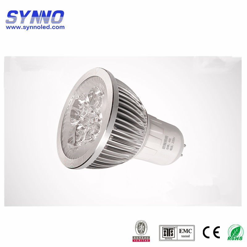 New 5W Mr16 Gu10 Led Spotlight ceiling lamp For Billboard hight lumen led downlight casing