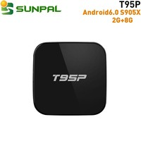t95p dvb s2 c set top box android 6.0 box Hardward 3D graphics acceleration free programmes high speed usb