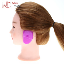 Tint Ear Cover Pair Hair Salon Silicone Rubber Hair Dye Shield Soft Earmuffs Protective Protect Color Hair Coloring Style Tools