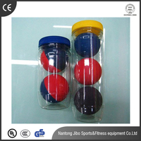 2016 hot selling hollow bouncing ball 60mm squash many color for sale