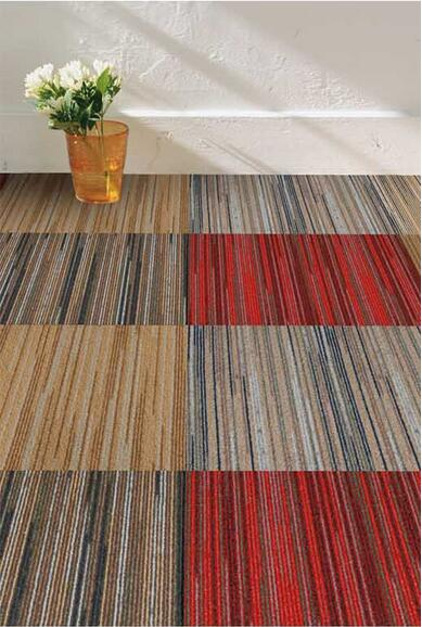 Washable Woven PVC Carpet Square for Kitchen and Bath Room