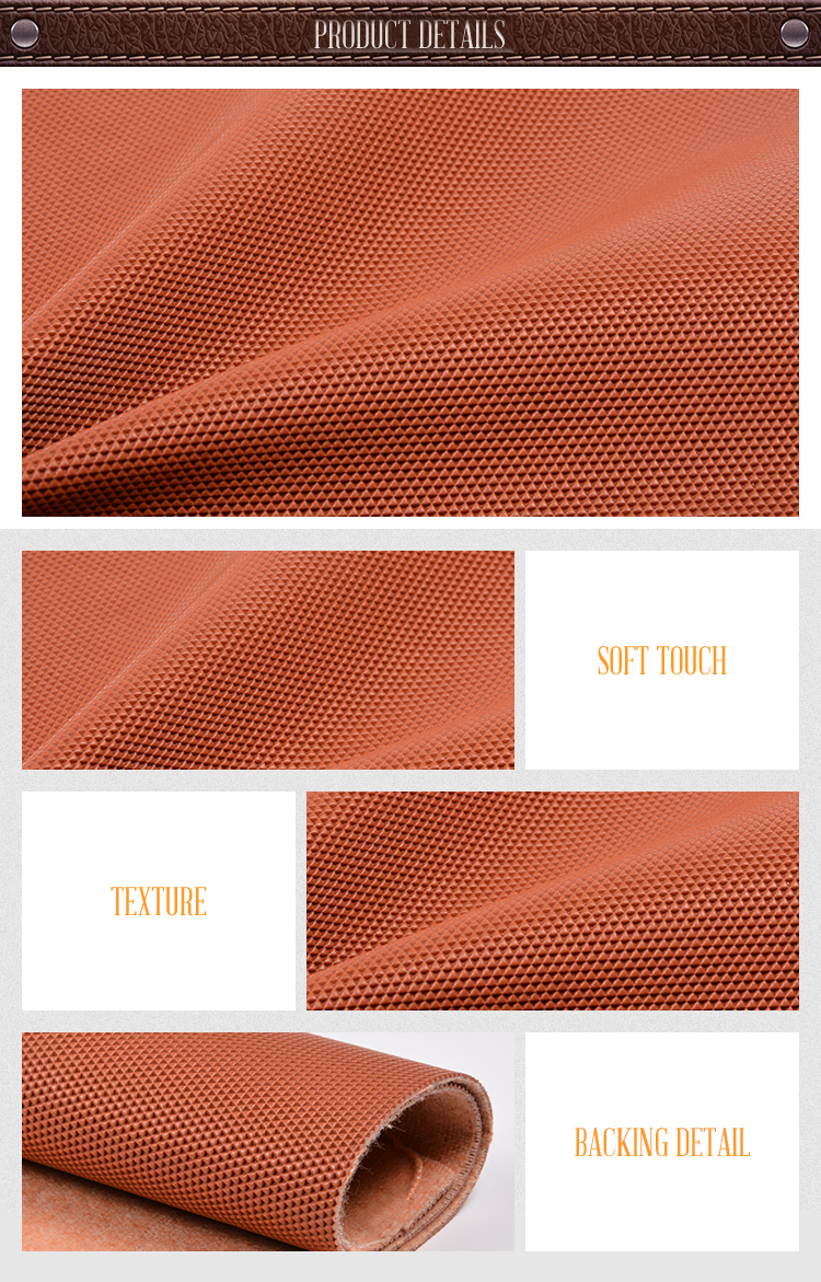 New Design Waterproof Pvc Stationery Leather For Office