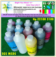 Factory Supply 1000ml Printer Ink/pigment Ink For Hp Z2100 Z3100 Z3200