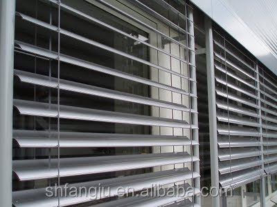 2017 hot sale 80mm outdoor aluminium venetian blinds windows,manual and motorized are both supplied.