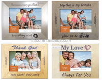 hot selling printed table top photo frame