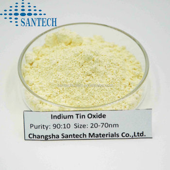 ITO powder indium tin oxide in yellow or blue