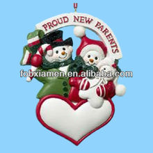 New online New design polyresin christmas ornament