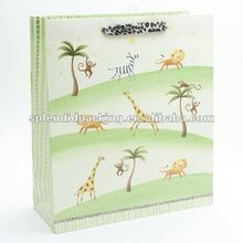 Zoo Animals Jumbo Gift Bag
