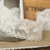 Golden Knit 3.5cm Width DIY Garment Accessories Lace Mesh Embroidery Lace DL2728#