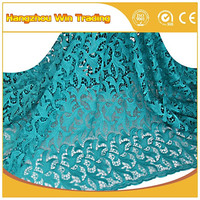 Hot poducts dubai luxury guipure lace fabric for women summer dresses 2016 in 5yards