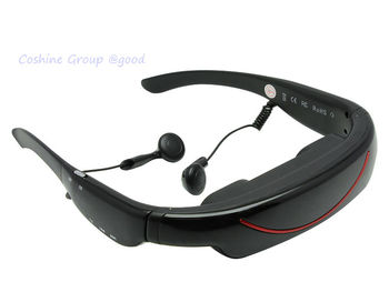 "4GB 72"" Video Glasses Virtual Personal Cinema Theater Stereo MP3 E-book AV In"