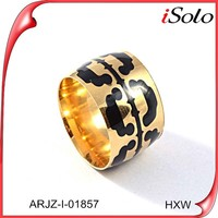 Fake gold ring 18k gold filled latest gold rings design for women