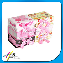 Multibows string bag girls liked gift boxes wrapped fancy colored paper