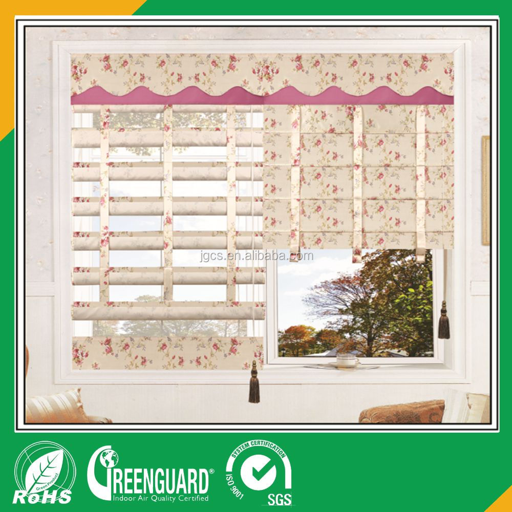 Kingo Brand Curtains Blinds Craft Roman Shades