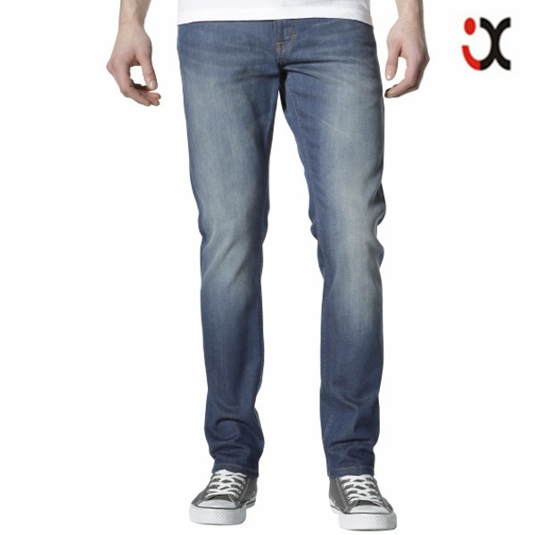 denim jeans made in china wholesale fitness clothing skinny jeans for men JXA032