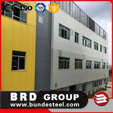 Weather proof color steel pu sandwich panel with high quality