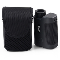 BIJIA 400m Sporting Golf Laser Rangefinder with 6x Magnification - Pinseeking - Focusing Eyepiece