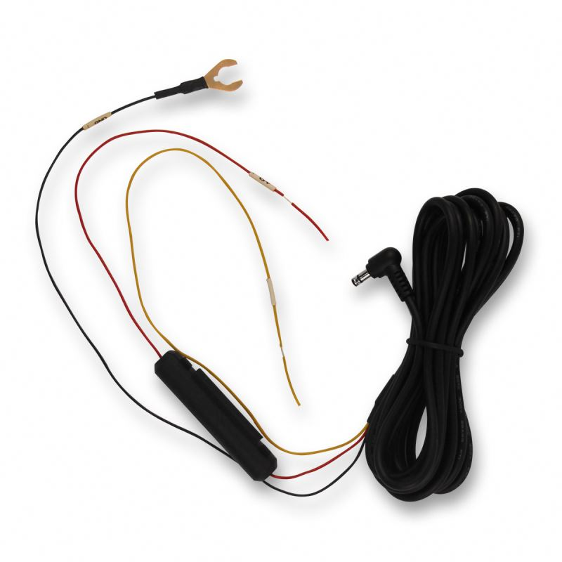 U terminal to 2.1mm Female Male DC Power Supply Extension Lead Cable 12V with 3A fused holder