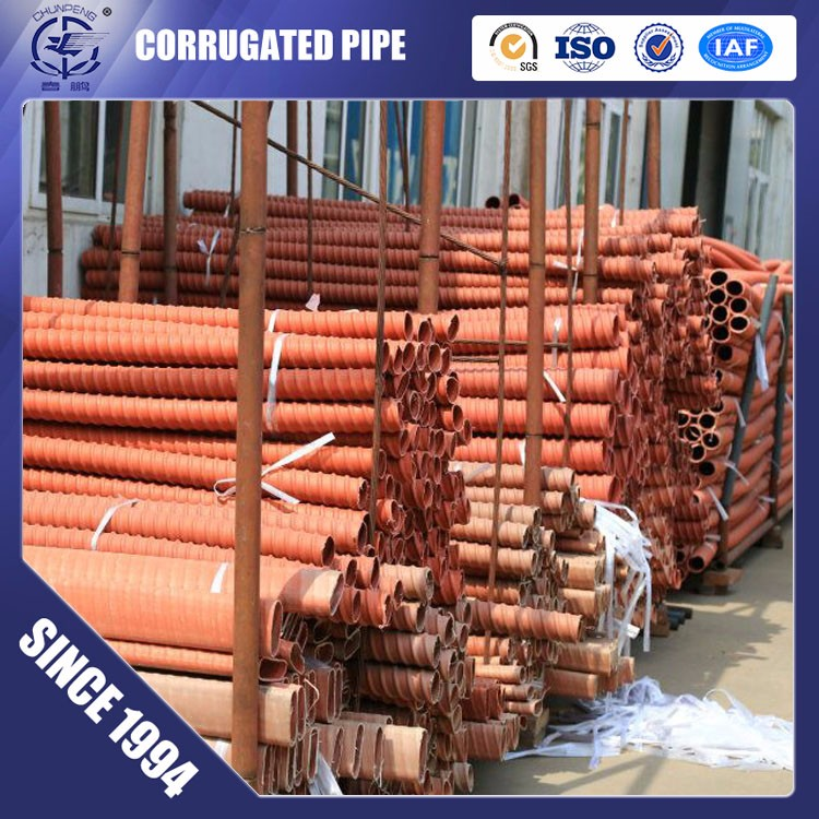 HDPE Plastic Corrugated Pipe for Cable-stayed Bridge