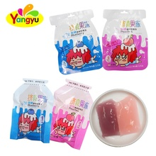 New Item Blueberry&Peaches Fruity Flavor Jelly Candy Healthy Jelly Fruit Kids Candy Snacks