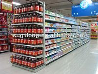 supermarket gondola display shelving&rack retail store shelf