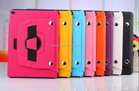2015 Fashionable leather case for apple ipad air 2 ipad 6 tablet
