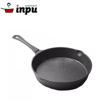metal cast iron sizzling fry skillet pan