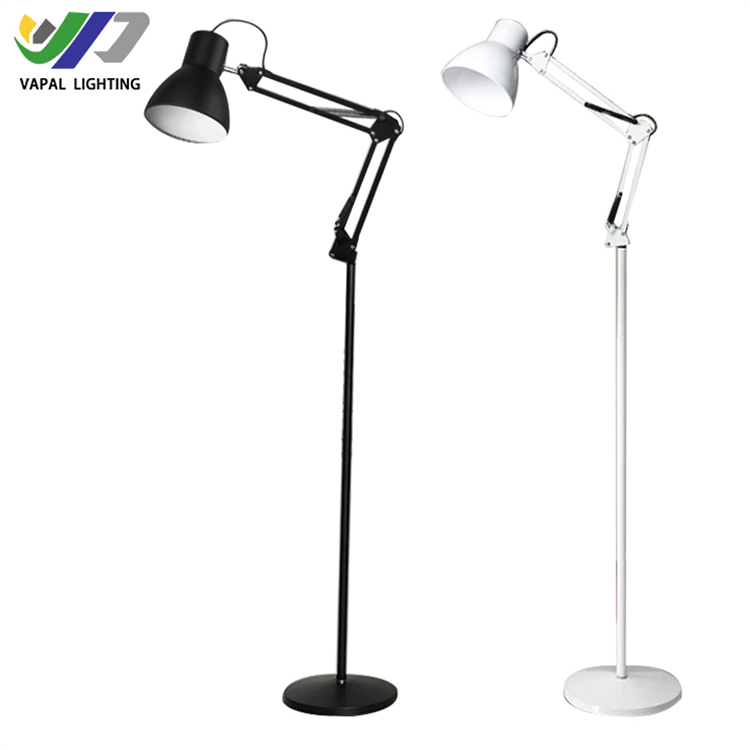 VAPAI Office Lighting dimmable clamp working study reading modern led floor lamp