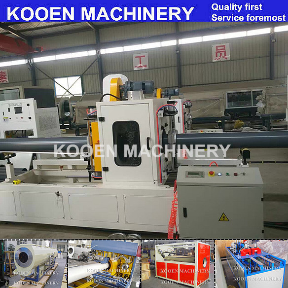KOOEN High speed 63 single extruder production line 20-63mm pipe pulling machine