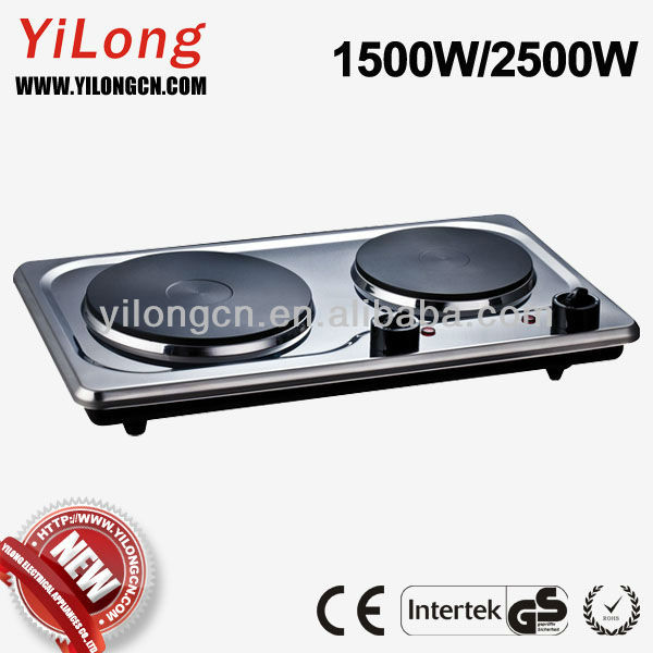 Hot plate cooking with double burner(HP-2750-1)