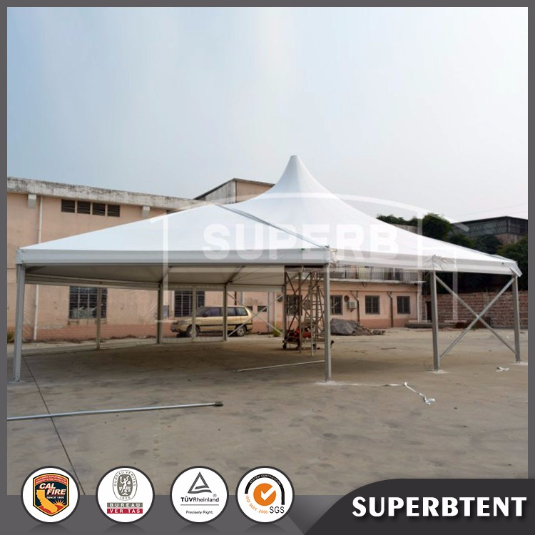 Aluminum high peak and multi-sided combination tent for sale