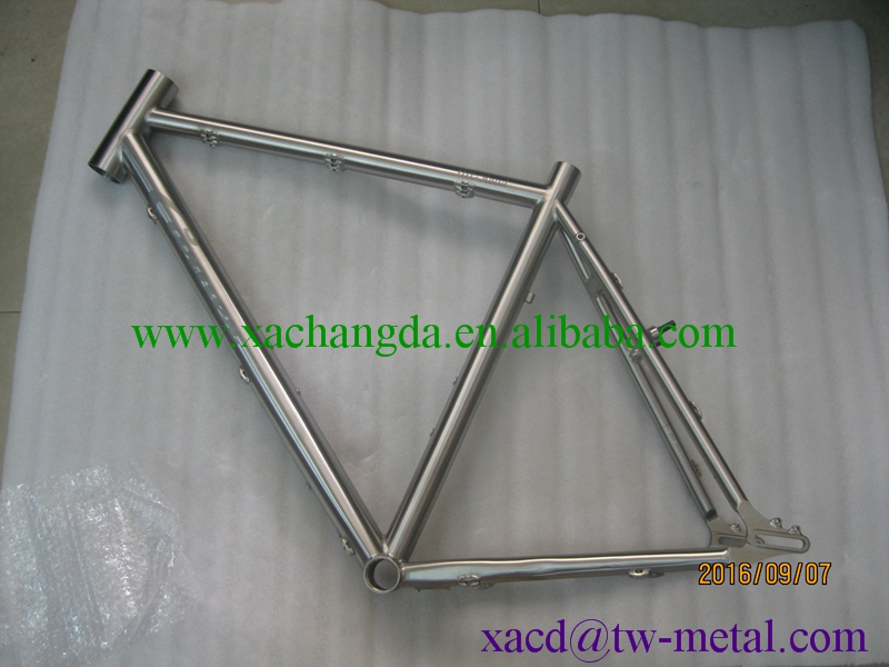 titanium bike frame customized titanium mtb bike frame durable and cheap bike frame