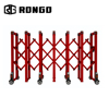 Rongo wholesale metal aluminum cheap retractable concert crowd control barrier with wheels for sale
