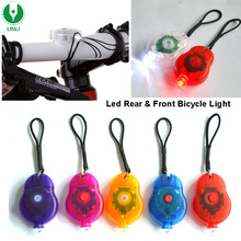 Shenzhen Manufacturer Led Bicycle Front and Rear Light