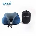 Cheap relaxing memory foam neck rest cervical support travel car neck pillow